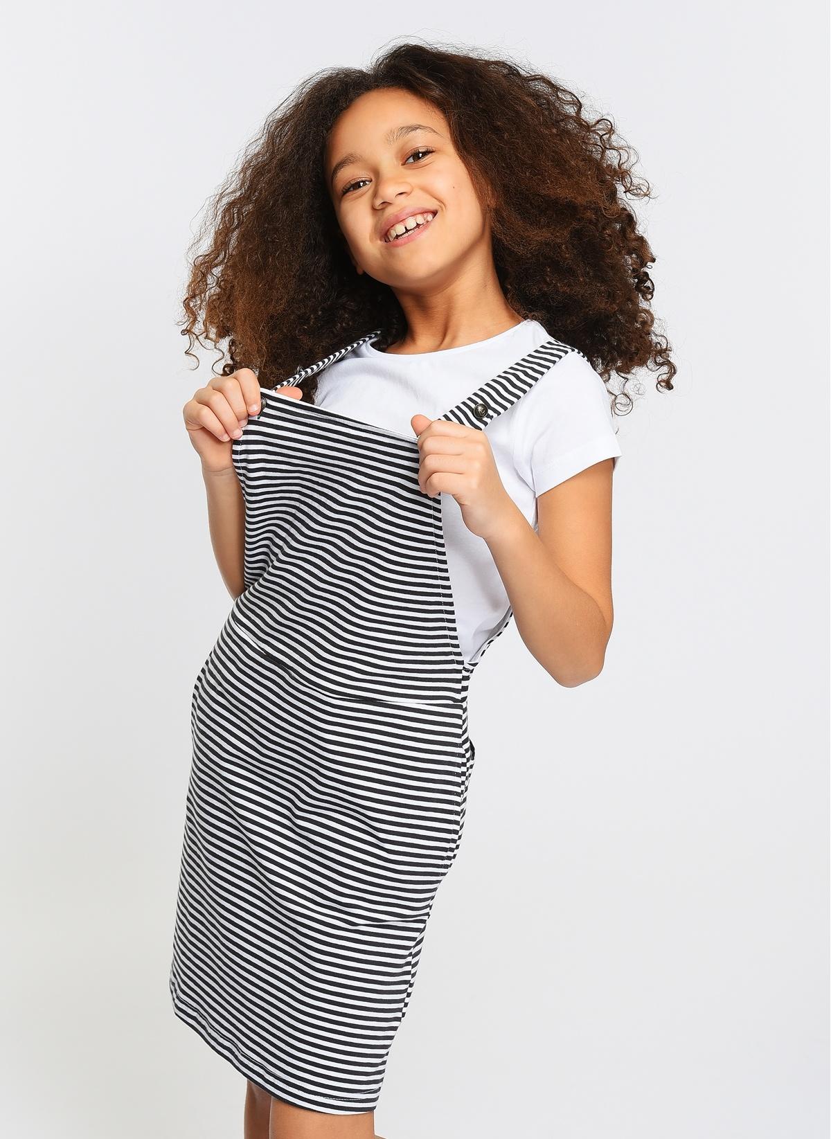 Asymmetry Salopet Elbise